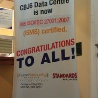 Photo taken at CSF Datacenter CBJ6 by Anzam N. on 4/10/2013