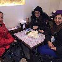Photo taken at Meşhur Adıyaman Çiğköftecisi by Özlem on 2/19/2016