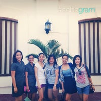 Photo taken at Hotel Felicidad Vigan by Zarina Faye S. on 9/27/2014