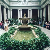 Photo taken at The Frick Garden Court by Talita R. on 8/7/2016
