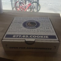 Photo taken at Insomnia Cookies by Angie M. on 3/24/2016