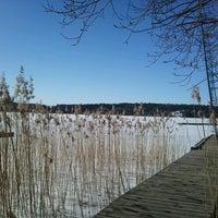 Photo taken at Kvarnviken by Per S. on 4/6/2013