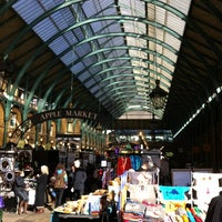 Photo taken at Covent Garden Market by Pedro N. on 10/12/2012