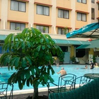 Photo taken at Swimming Pool Agas International Hotel by Fanell@ A. on 1/26/2013