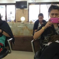 Photo taken at Heaven's Salon and Spa by Ianne G. on 11/26/2015