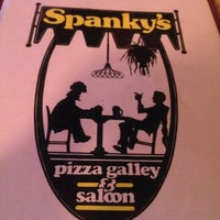 Photo taken at Spanky's Pizza Gallery & Saloon by Opal P. on 1/1/2013