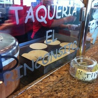 Photo taken at Taqueria El Rinconsito by Angela Z. on 11/25/2012