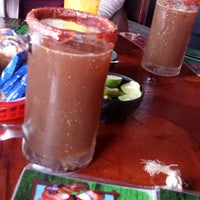 Photo taken at Los Aguachiles by Marie C. on 12/20/2014
