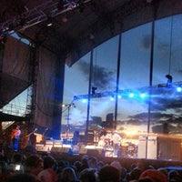 Photo taken at Huntington Bank Pavilion at Northerly Island by Gail R. on 6/28/2013