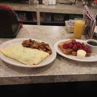 Photo taken at Monica's State St. Diner by Edward E. on 11/9/2014