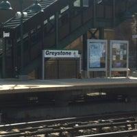 Photo taken at Metro North - Greystone Train Station by Sandy M. on 4/4/2013