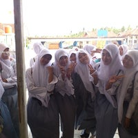Photo taken at SMKN 5 Pandeglang by Mr Joe on 1/17/2014