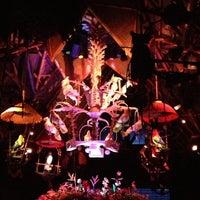 Photo taken at Walt Disney's Enchanted Tiki Room by Steven F. on 10/13/2012