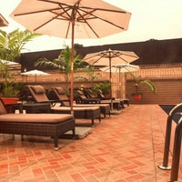 Photo taken at D'Palms Hotel by William U. on 8/27/2013