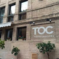Photo taken at TOC Hostel Sevilla by Emma C. on 1/19/2016