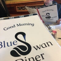 Photo taken at Blue Swan Diner by Axel L. on 11/6/2016