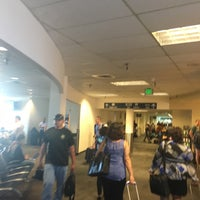 Photo taken at Concourse A by Axel L. on 7/27/2017