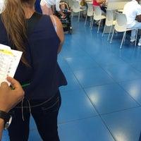 Photo taken at Comisaría de Policía de Madrid-Latina (y Oficina de Tramitación del DNI y Pasaporte) by Yvecka L. on 8/26/2015
