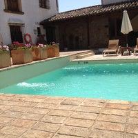 Photo taken at Puerta De La Luna Hotel Baeza by Robert P. on 6/13/2014
