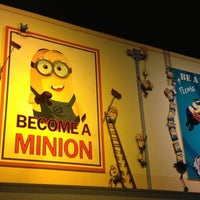 Photo taken at Despicable Me: Minion Mayhem by Carol N. on 1/6/2013