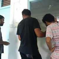Photo taken at Bank of Maldives Naivaadhoo branch by Manch A. on 9/21/2014