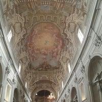 Photo taken at Basilica di Santa Maria del Carmine by Caner E. on 8/1/2015