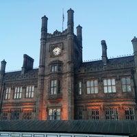 Photo taken at Shrewsbury Railway Station (SHR) by Owen M. on 10/6/2014