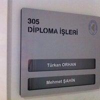 4/10/2014에 Mustafa A.님이 Öğrenci İşleri Daire Başkanlığı에서 찍은 사진