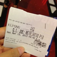 Photo taken at MBO Cinemas by Cpc N. on 4/13/2013