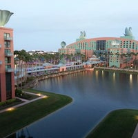 Photo taken at Walt Disney World Swan Hotel by Steve A. on 2/19/2013