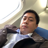 Photo taken at Philippine Airlines - Inside Plane by Darrell D. on 1/7/2018
