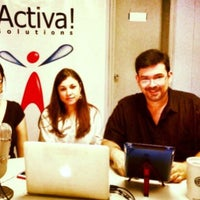 Photo taken at Activa! Solutions by Alberto C. D. on 3/27/2014