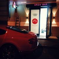 Снимок сделан в Brow Bar пользователем BrowBar M. 9/22/2014