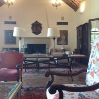 Photo taken at Rice Faculty Club (Cohen House) by Hamid A. on 1/28/2013