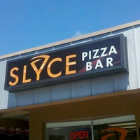 Photo taken at Slyce Pizza Bar by TampaBayNightLife.TV G. on 5/6/2013