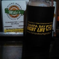 Photo taken at Mike's Pizza & Pub by TampaBayNightLife.TV G. on 12/8/2013