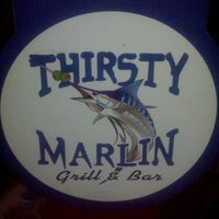 Photo taken at Thirsty Marlin Grill & Bar by TampaBayNightLife.TV G. on 10/8/2012