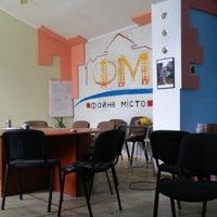 """Photo taken at Молодіжне об'єднання """"Файне Місто"""" by Viktoria C. on 9/30/2014"""