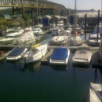 Photo taken at MarinaSide Grill by Jackie S. on 8/11/2013