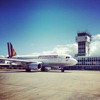Photo taken at Zagreb International Airport (ZAG) by Branko Š. on 5/13/2013