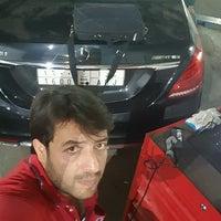 Photo taken at service_center for Mercedes&Bmw by Abdulkadir B. on 10/23/2016