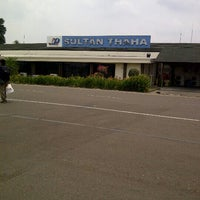 Photo taken at Sultan Thaha Syaifuddin Airport (DJB) by Just C. on 9/23/2012