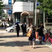 Photo taken at Hibiya Line Hatchobori Station (H11) by Shigeki I. on 6/17/2013
