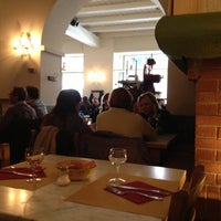 Photo taken at Osteria Al Nove by cortimax on 10/16/2012