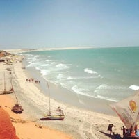 Photo taken at Canoa Quebrada by Andra S. on 9/23/2014