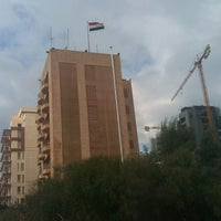 Photo taken at Embassy of the Arab Republic of Egypt by Hadia G. on 12/22/2016