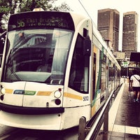 Photo taken at Tram Stop 11 (86/96) by Supree T. on 11/7/2012