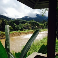 Photo taken at Rim Pai Cottage by Boaz F. on 9/27/2014