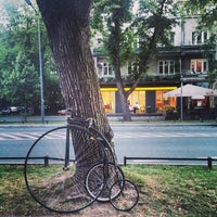 Photo taken at Francuska by Piotr S. on 7/14/2014