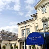 Photo taken at Churchills Hotel Cardiff by Craig S. on 6/6/2013